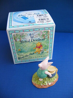 Piglet and the Honeypot WP29 – Royal Doulton Storybook Figurine