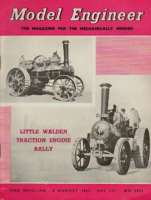 Model Engineer .little Walden Traction Engine Rally .57