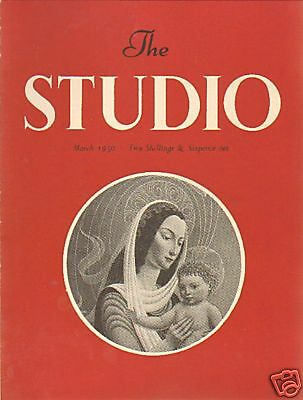 The Studio.irish Painters. Art Magazine March  1950