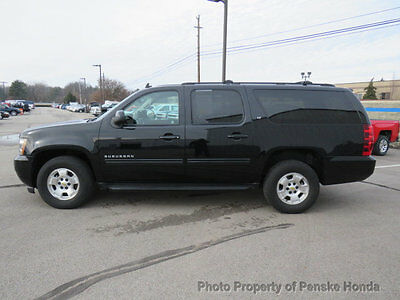 2012 Chevrolet Suburban 4WD 4dr 1500 LT 4WD 4dr 1500 LT SUV Automatic 8 Cyl BLACK