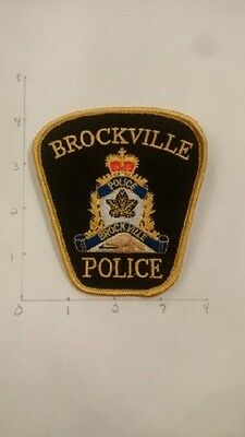 BROCKVILLE POLICE, ONTARIO, CANADA - Chief's patch