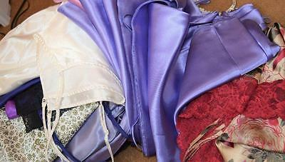 Joblot Bundle of 25 plus vintage satin chemise & lingerie