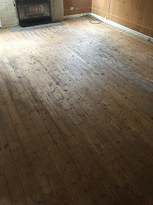 Recycled Baltic Pine Floorboards 100 X 19mm (4inch)