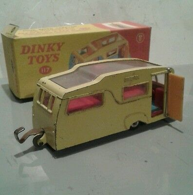 Dinky no. 117  Four Berth Caravan + free authentic repro box