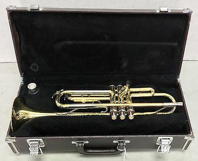 Yamaha YTR-232 Bb Trumpet with Case and Mouthpiece Ready to Play Japan