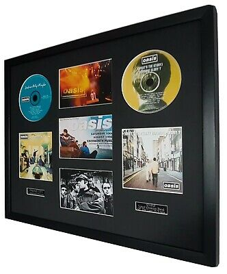 Knebworth Oasis Framed Montage-Limited Edition-Metal Plaque-Certificate