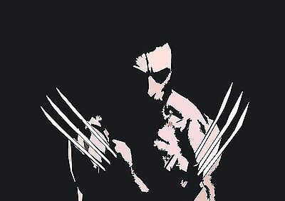 Wolverine - A4 Glossy Poster -TV Film Movie Free Shipping #728