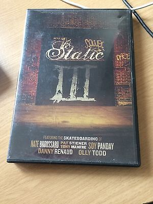Static III skateboarding DVD