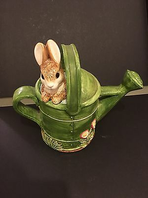 Beatrix Potter Watering Can By The Border Fine Arts Studio