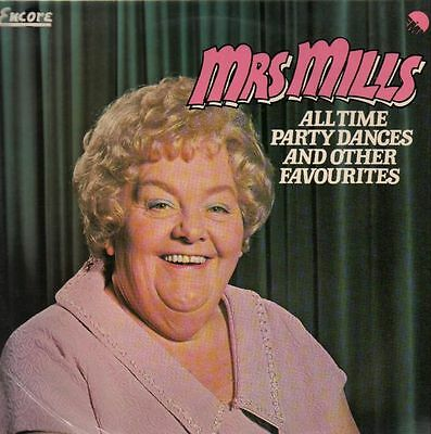 LP Mrs Mills All Time Party Dances And Other Favourites NEAR MINT Encore