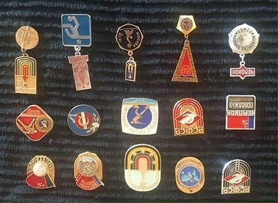Russian Olympic Badges