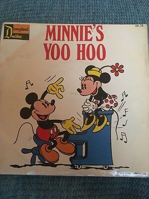 Disneyland Record Minnie's Yoo Hoo Vintage 1973 The Mickey Mouse March