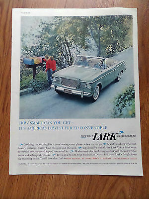 1960 Lark by Studebaker Ad   Convertible