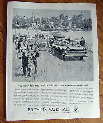 1959 British Vauxhall Ad Four-Door Imported Station Wagon