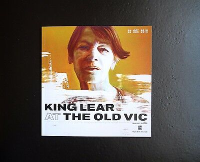 The Old Vic Theatre Programme Includes Glenda Jackson 's King Lear