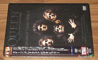Sealed PROMO issue! QUEEN Japan 2 x DVD G/Hits Vol.1 Freddie Mercury MORE LISTED