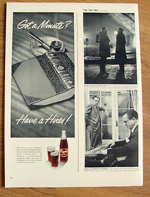 1950 Hires Root Beer Ad Adventuring in an armchair?
