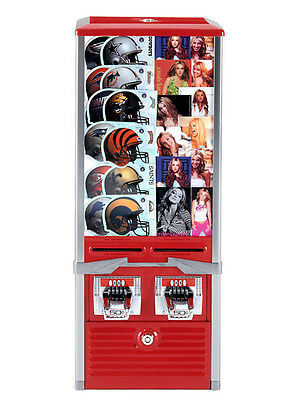 Northwestern Tattoo Sticker Flat Vending Machine 2 column .50