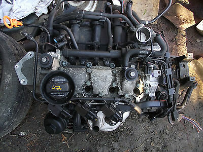 vw polo 1.2 3 cylinder complete engine /AWY