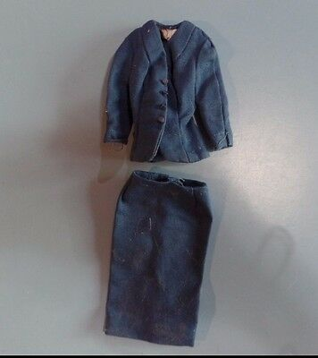 Vintage Barbie Doll Clothes - Barbie American Airline 984 - Jacket and Skirt