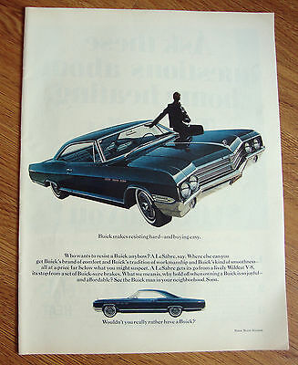1965 Buick LeSabre Ad  Makes Resisting Hard and Buying easy
