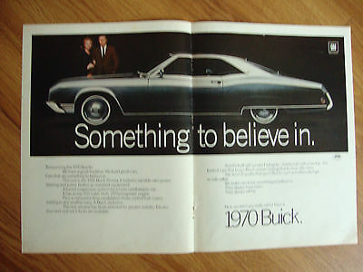 1970 Buick Riviera Ad  Something to Believe In
