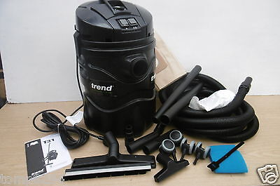 Trend T31 1400 Watt Wet & Dry Vacuum Dust Extractor 230V + Extra Bag