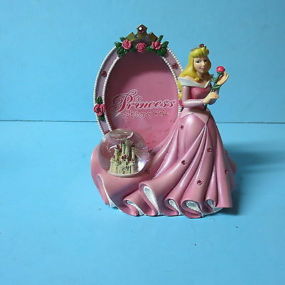 Disney Princess with picture frame and snow globe