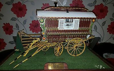 gypsy wagon scale  1/12 modal peter maul. world class craftsmanship