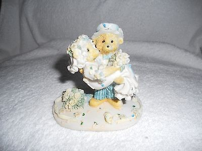 Bride and Groom Teddy Ornament