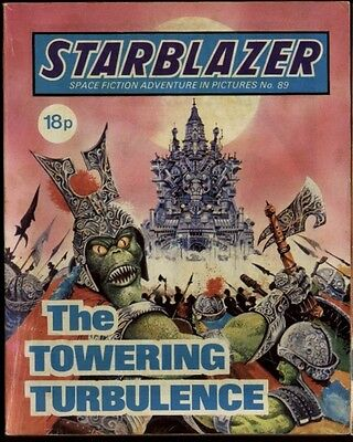 The Towering Turbulence,starblazer Space Fiction Adventure In Pictures,no.89
