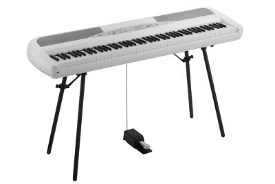 Korg SP280WH Digital Piano (SP-280) including stand - WHITE