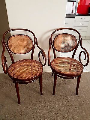 Set of 8 Classic Bentwood Chairs