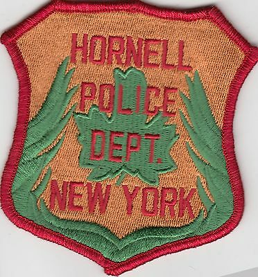 Hornell New York Police Department Shoulder Patch Ny