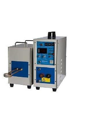 High Quality 15KW 30~100KHz Dual Station Induction Heater Furnace Fast Shipping