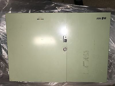 Northern Telecom copper telephone surge suppressors and patch punch-down panel