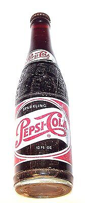 Vintage Full Pepsi Cola ACL Soda Pop Bottle Can Flat Top Beer Pre Zip NoRskOffer