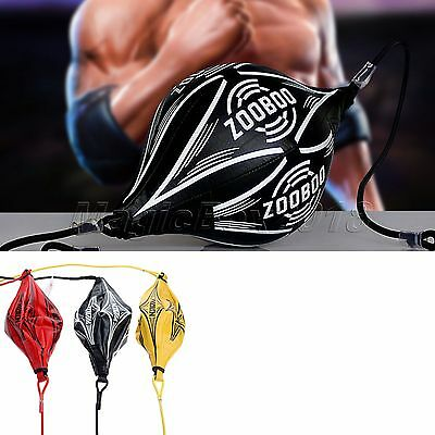 1pcs MMA Boxing GYM Practice Punches Speed Ball Double End Training Punching Bag