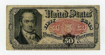 5th Issue Fr.1381 50c United States Fractional Currency Note