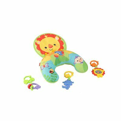 Fisher-Price Cozy Fit Tummy Wedge Lion Baby Play Mat