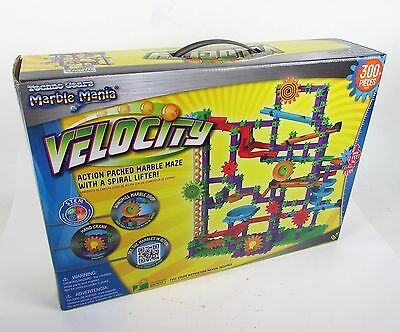 Brand New & Sealed - Velocity Techno Gears Marble Mania w/ 300+ Pieces !!