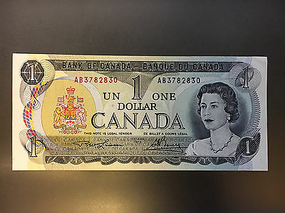 1973 Bank Of Canada $1 One Dollar Note - UNC