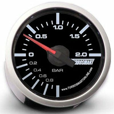 Turbosmart TS-0101-2025 Boost Gauge, 0-2 bar, 52 mm