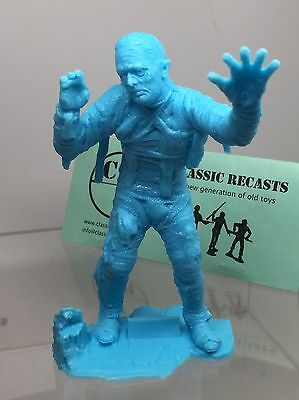 Recast Marx Universal Monster, The Mummy.  Monster. About Six Inches. Blue