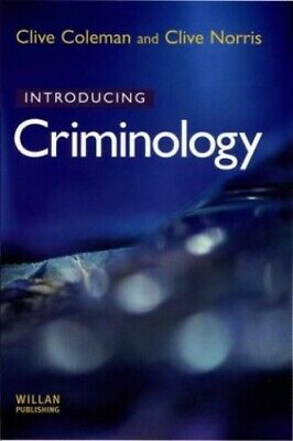Introducing Criminology by Norris, Clive Paperback Book The Cheap Fast Free Post