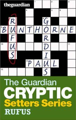 The 34;Guardian34; Cryptic Crosswords Setters... by Hugh Stephenson ed Paperback