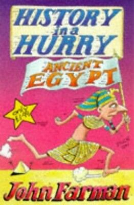 History In A Hurry: Ancient Egypt, Farman, John Paperback Book The Cheap Fast