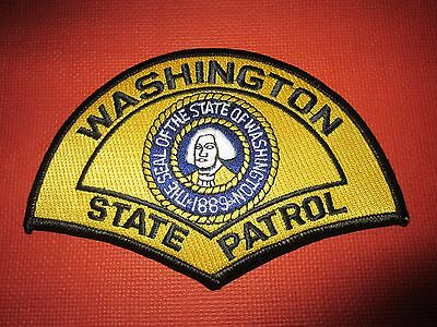 Collectible Washington State Patrol Patch New
