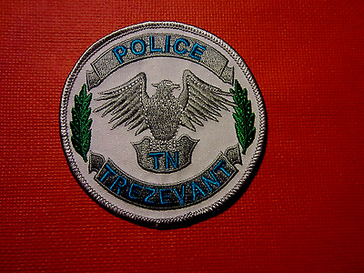 Collectible Tennessee Police Patch Trezevant New
