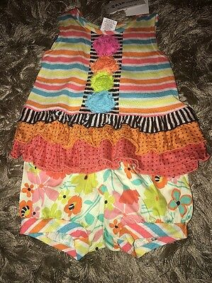 Zaza Couture Girls 2 Piece Outfit Size 3t NWT